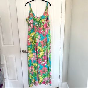 Lilly Pulitzer Dresses - Lilly Pulitzer Palm Maxi Tank Dress